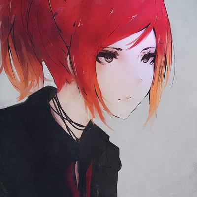 Emo Anime Girl Wallpaper Aoi Ogata