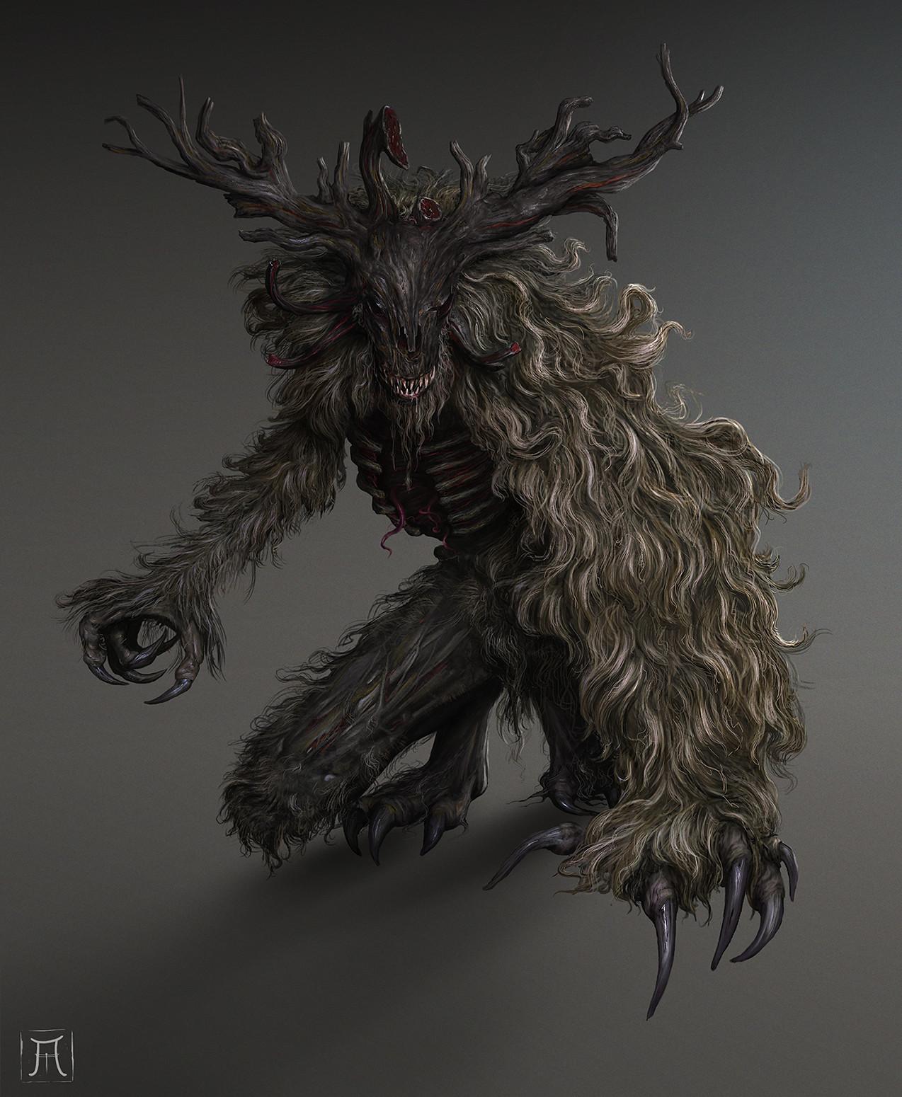 3d Centipede Wallpaper Artstation Cleric Beast Igor Krstic