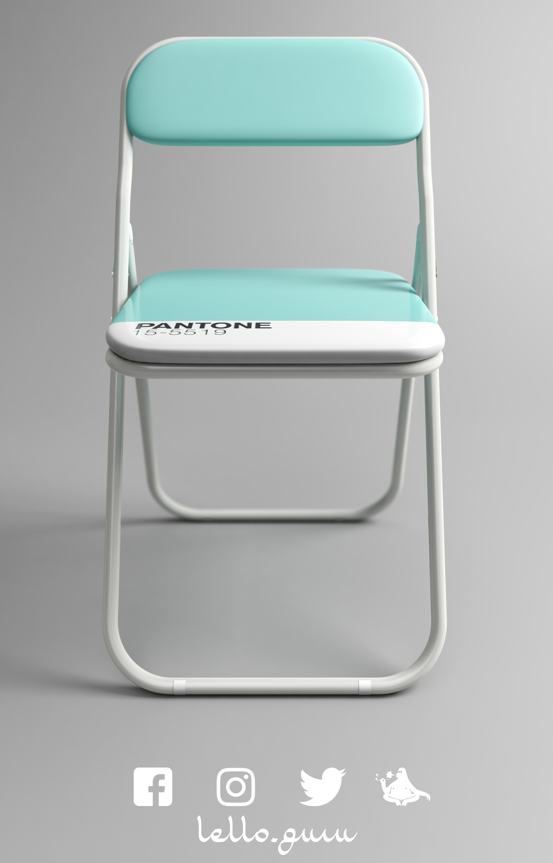 Marcello Ganzerli Pantone Chair Concept