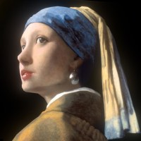 With A Pearl Earring With A Pearl Earring Earrings Biju