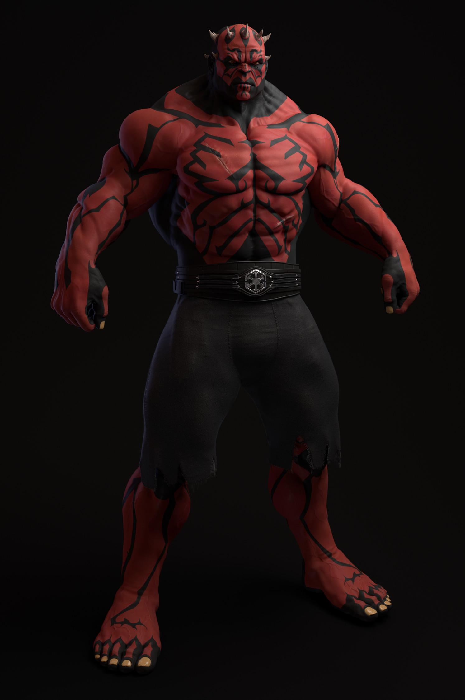 Red Hulk Wallpaper Hd Artstation Hulk Maul Mickael Vermosen