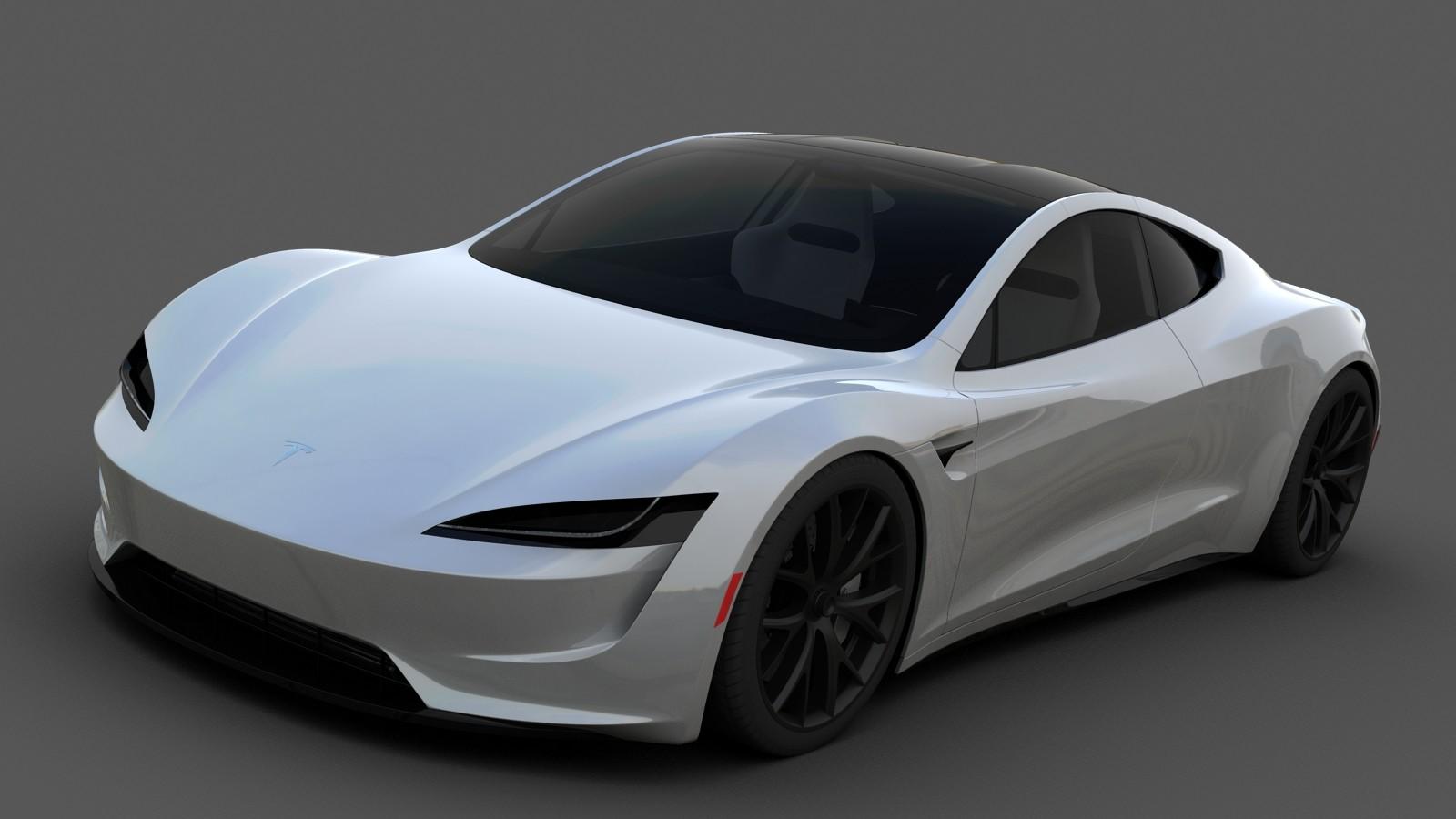 Car Wallpaper In 3d Wiktor Urbańczyk Tesla Roadster 2 0 2020
