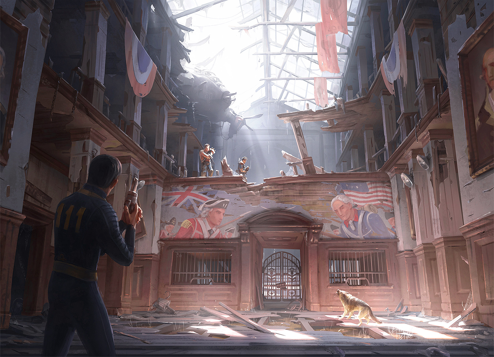 Fall Out Boy Quotes Wallpaper Ilya Nazarov Concept Artist On Fallout 4 Lord Of The