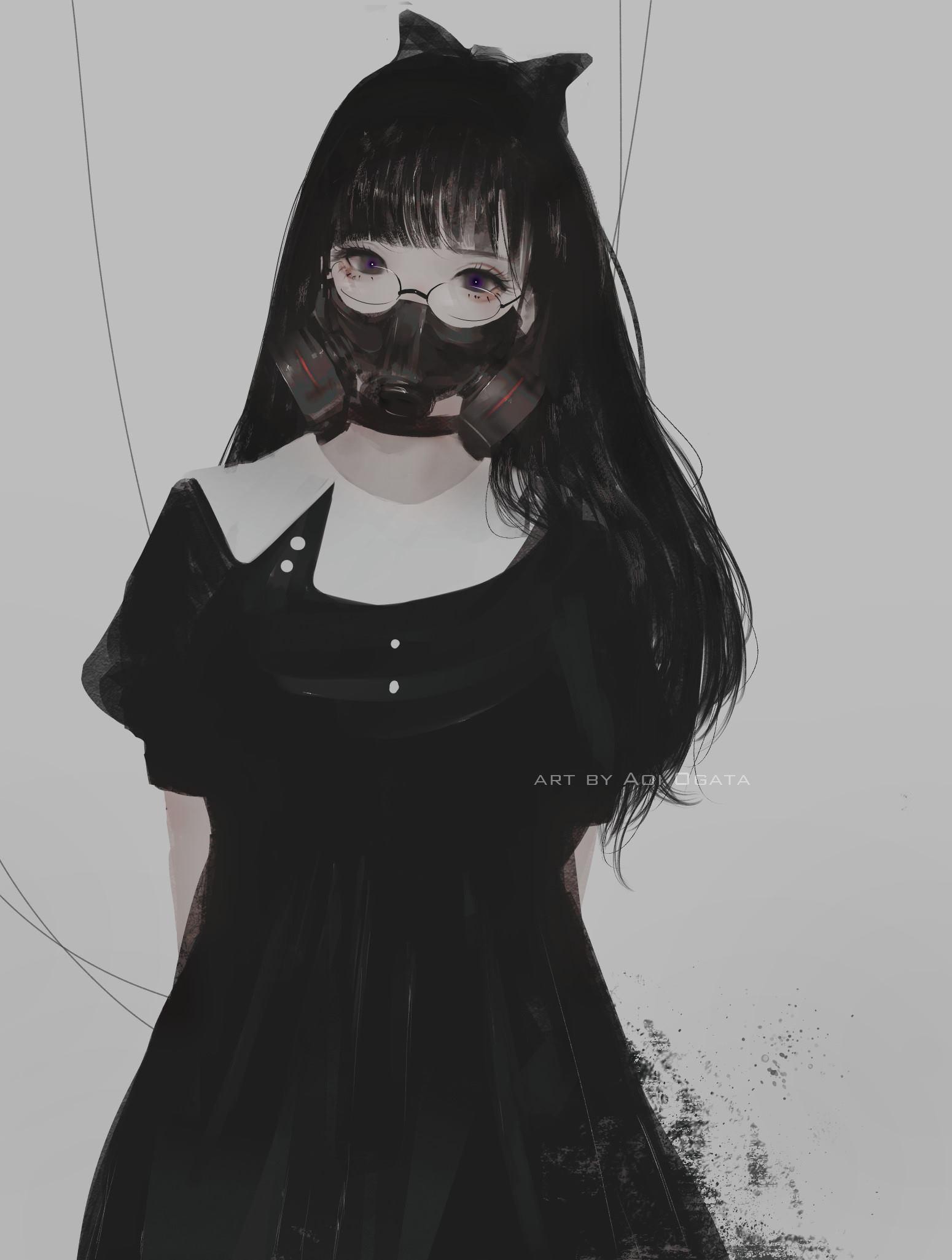 anime girl face