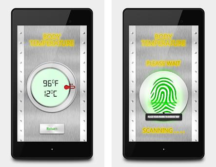Fever Body Temperature Prank 660 apk download for Android \u2022 body