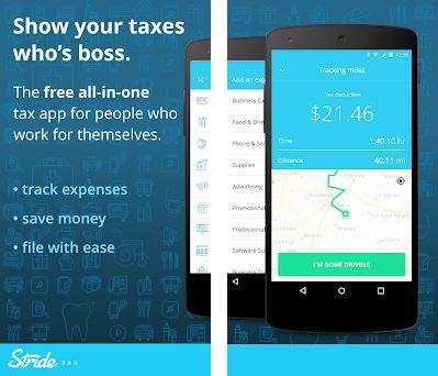 Stride Tax Free Mileage, Expense,  Receipt Log 207 apk download