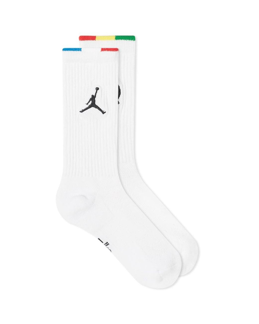 Jordan Teppichfliesen Nike Cotton Air Jordan Q54 Sock In White For Men Lyst