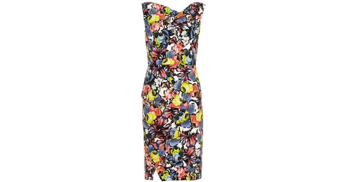 Erdem Mariko Floral Print Dress Lyst