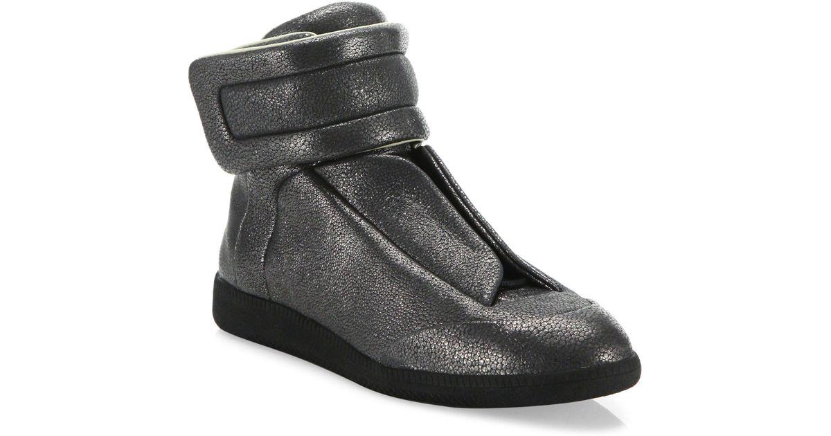 Maison Margiela Stingray Future Calf Leather High Top