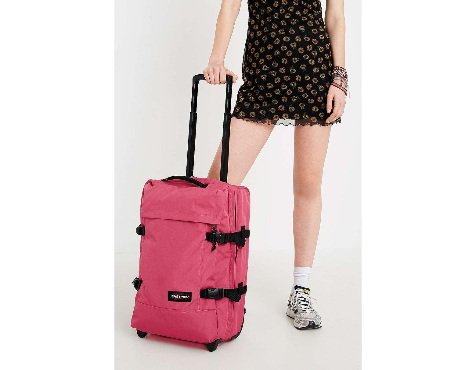 Eastpak Tranverz S Eastpak Tranverz S Pink Luggage Womens All In Pink Lyst