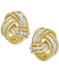 Diamond Earrings: Macy's 1 Ct Diamond Earrings