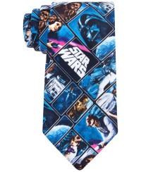 Lyst - Star Wars Vintage Poster Tie in Blue for Men