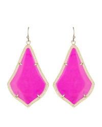 Kendra scott Alexandra Earrings in Purple (MAGENTA) | Lyst