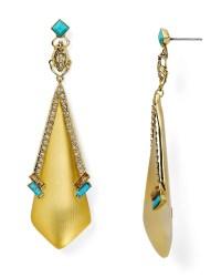 Lyst - Alexis bittar Lucite Dangling Beetle Stud Earrings ...