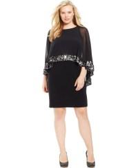 Plus Size Chiffon Dresses - Eligent Prom Dresses