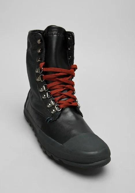 Tretorn Klipporone Leather Boot In Black For Men Lyst