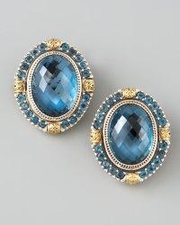 London Topaz Earrings London Blue Topaz Earrings Marshall ...