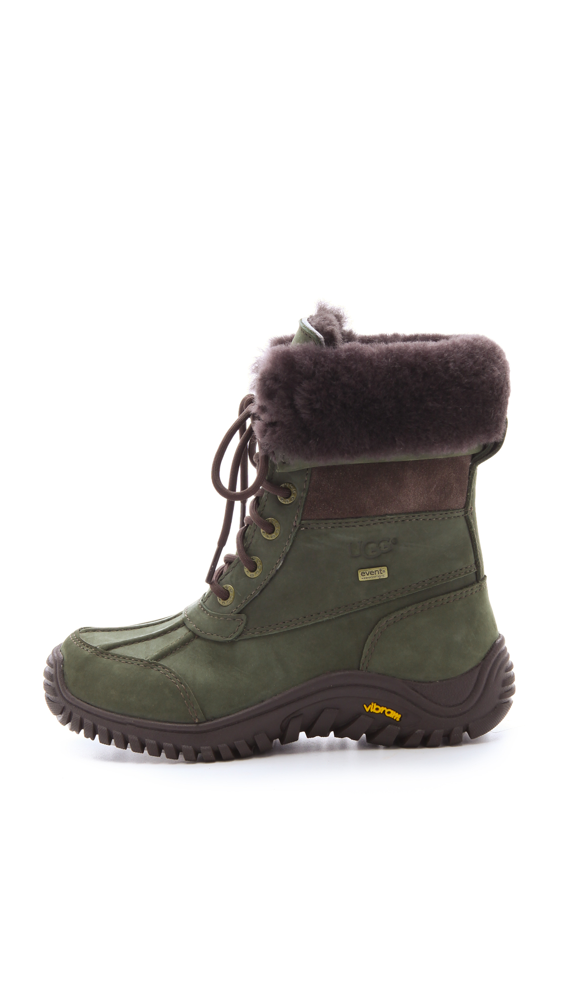 Lyst Ugg Adirondack Boots In Green