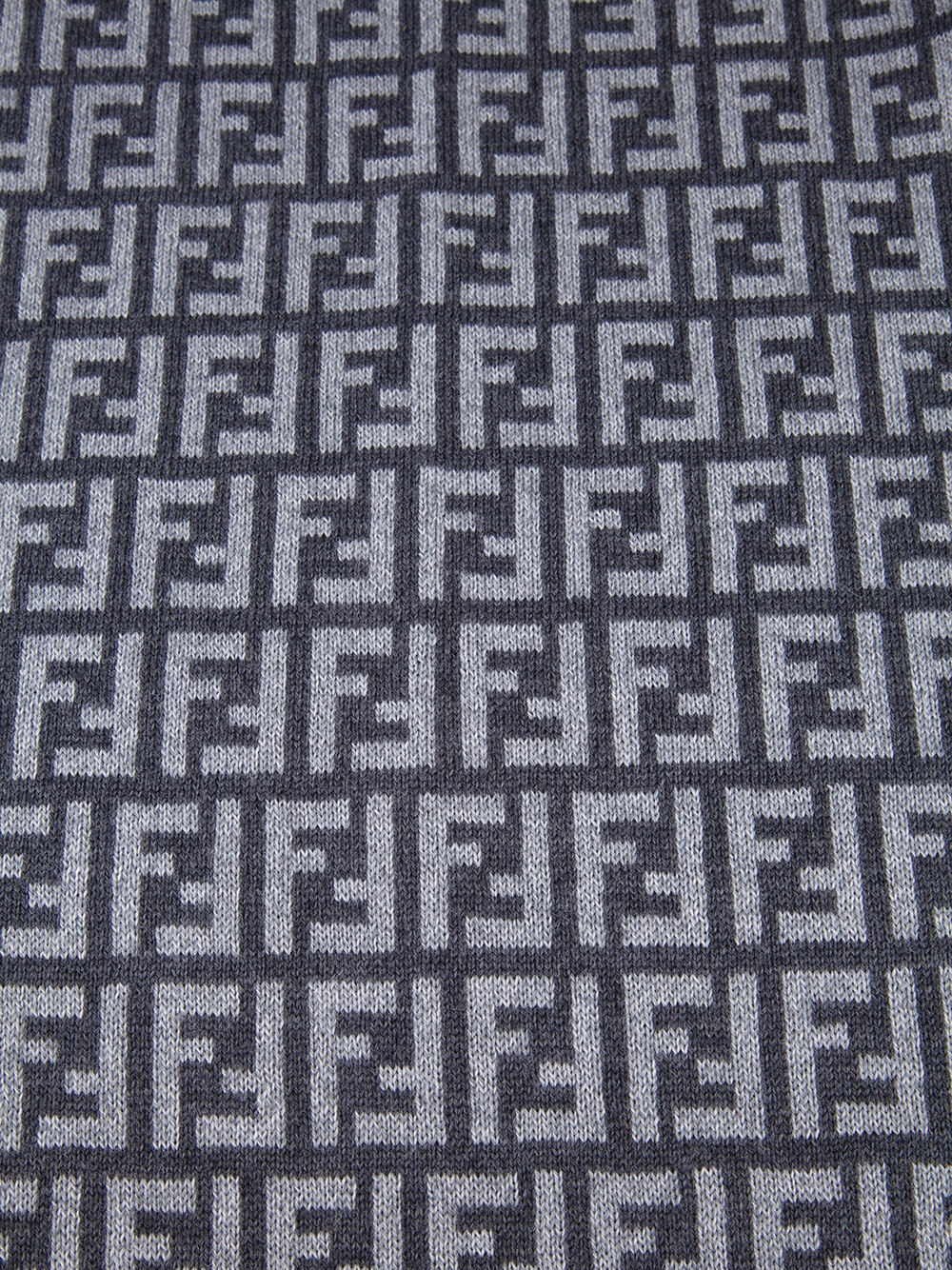 Strawberry Wallpaper For Iphone Fendi Logo Scarf In Gray Lyst