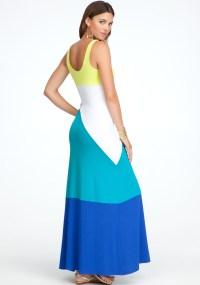 Colorblock Maxi Dress_Maxi Dresses_dressesss