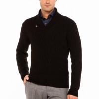 Mens Shawl Neck Sweater - Sweater Tunic