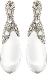 Alexis Bittar Pave Crystal Lucite Drop Earrings in (CLEAR ...