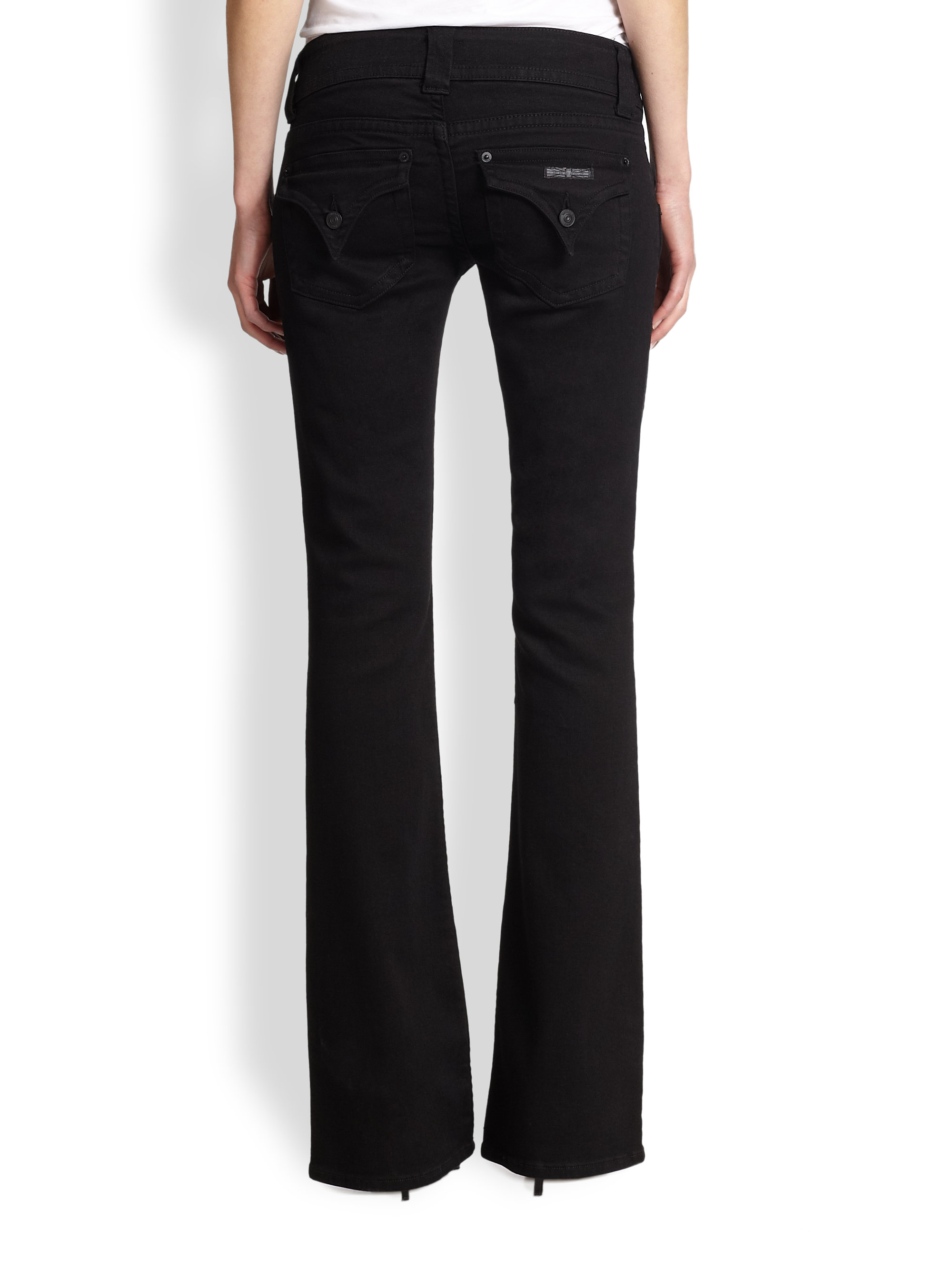Hudson Jeans Signature Bootcut Jeans In Black Lyst