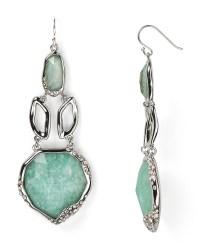 Alexis bittar Amazonite Chandelier Drop Earrings in Green ...