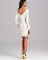 White Cocktail Dresses Long Sleeve - Discount Evening Dresses