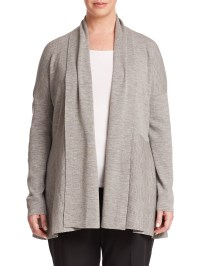 Women'S Shawl Collar Merino Wool Cardigan
