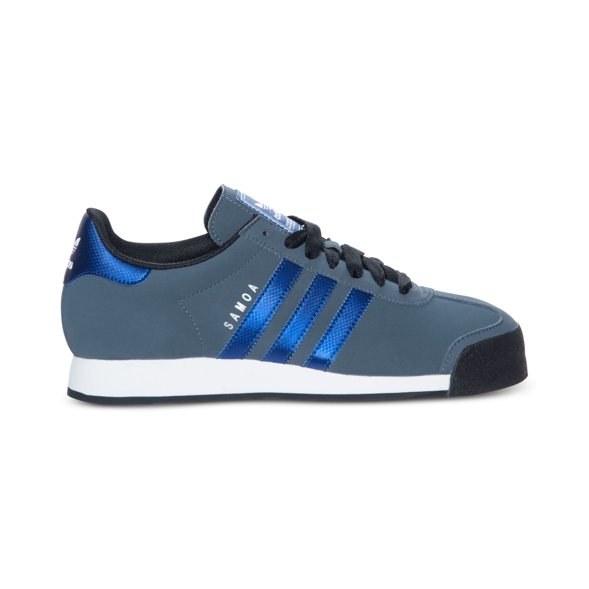 Adidas Sneakers Lyst Adidas Samoa Sneakers In Blue For Men