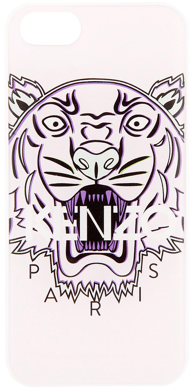 Wallpaper Paris Iphone Lyst Kenzo Pink Tiger Logo Iphone 5 Case In Pink