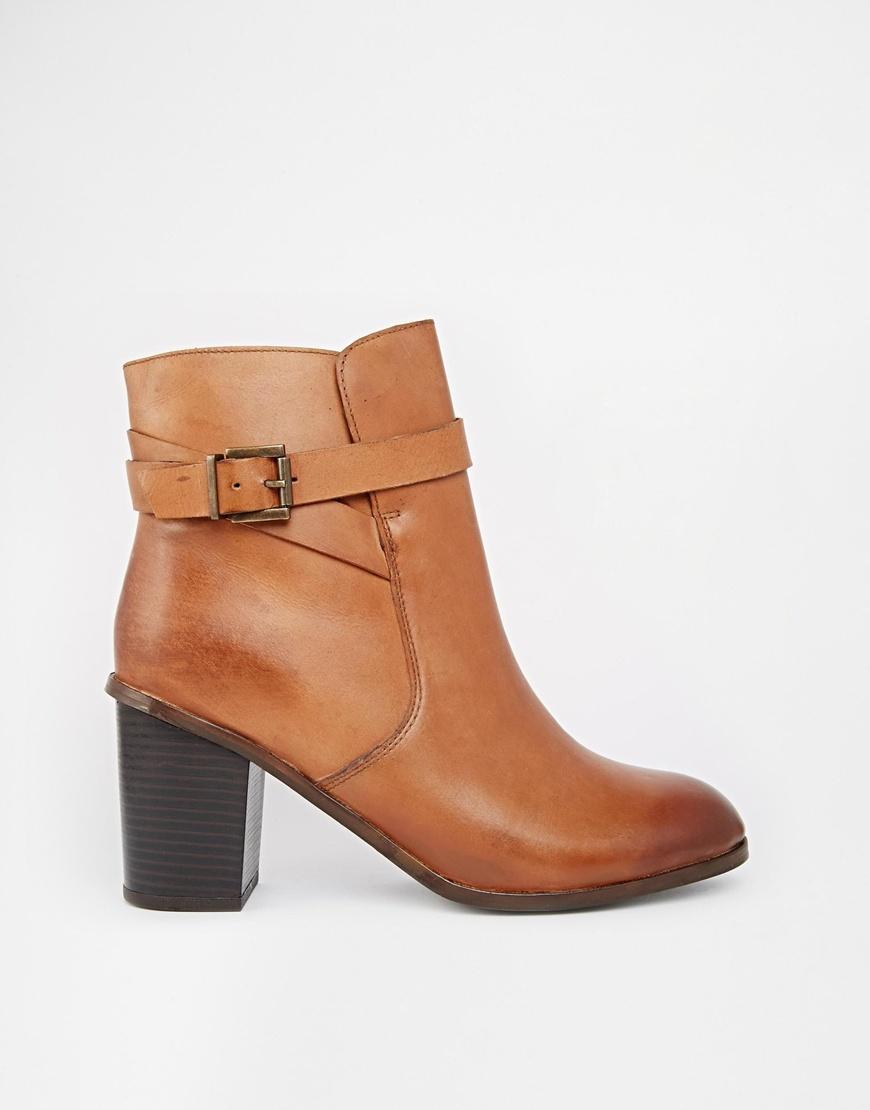 Lyst Carvela Kurt Geiger Tamsin Leather Heeled Ankle