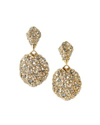 Alexis bittar Marquise Crystal-encrusted Clip Drop ...