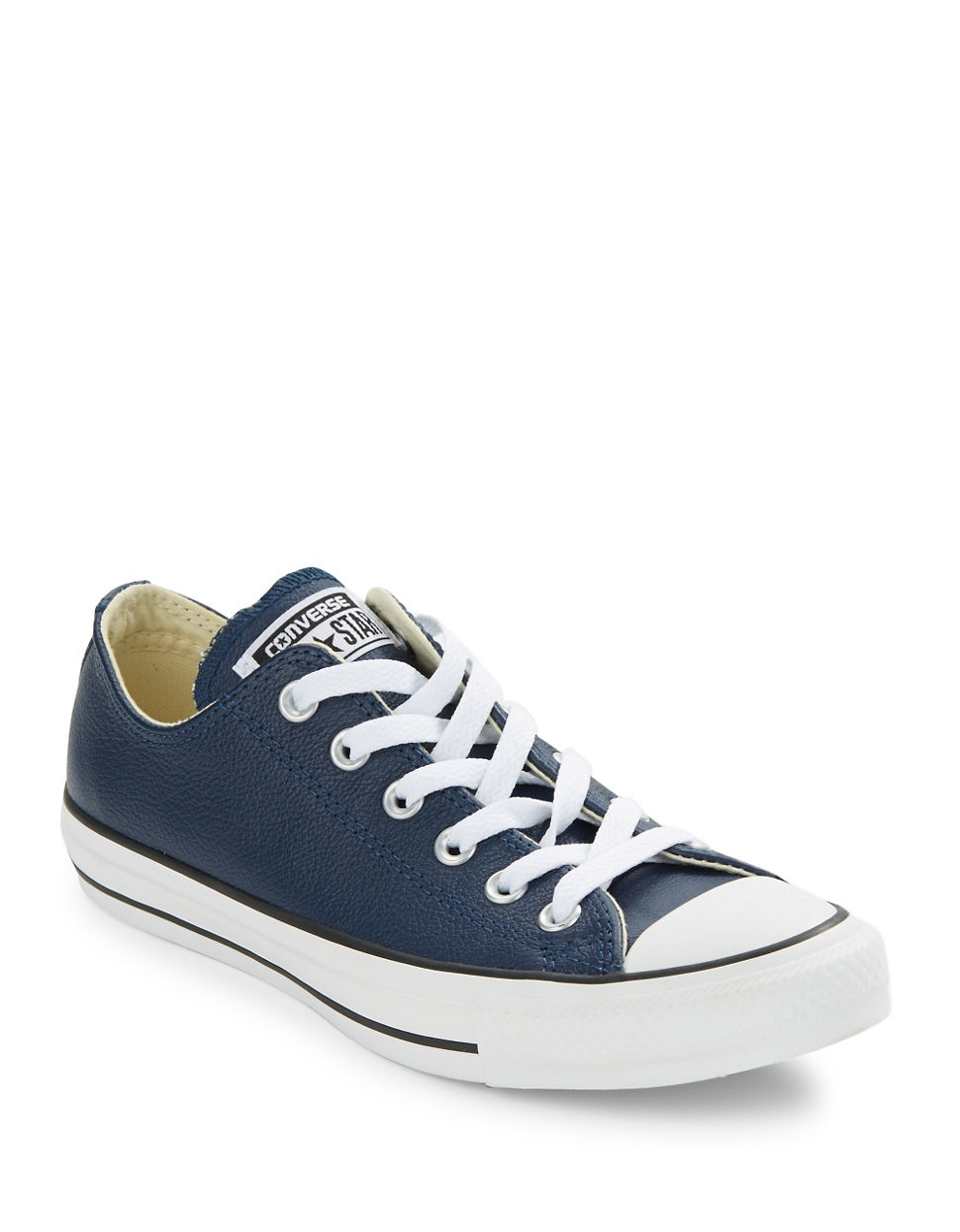 Unisex Sneaker Converse Unisex Chuck Taylor Leather Sneakers In Blue For