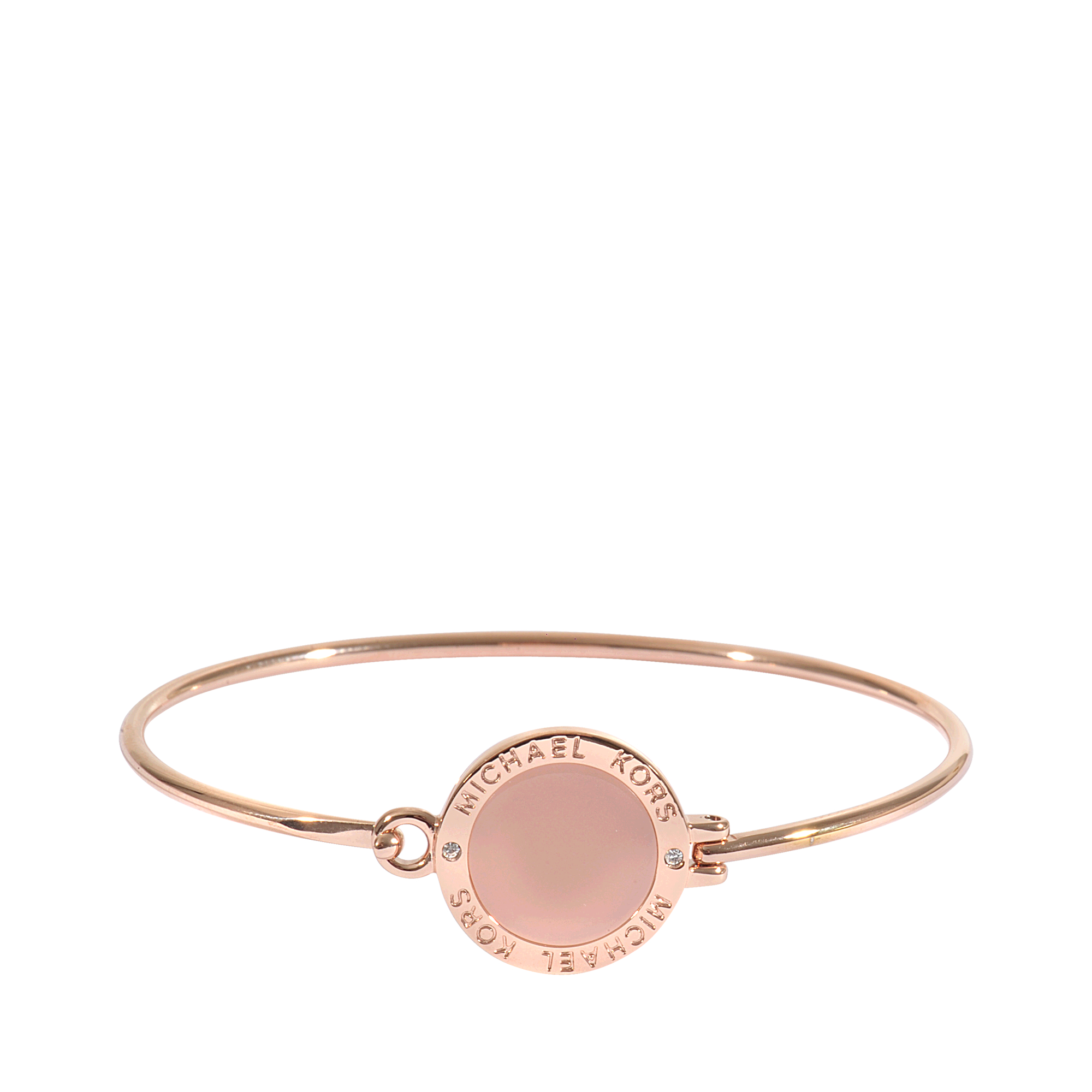 Rose Gold Armband Lyst Michael Kors Armband Rose Gold Blush In Metallic