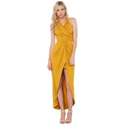 Medium Crop Of Mustard Yellow Dress