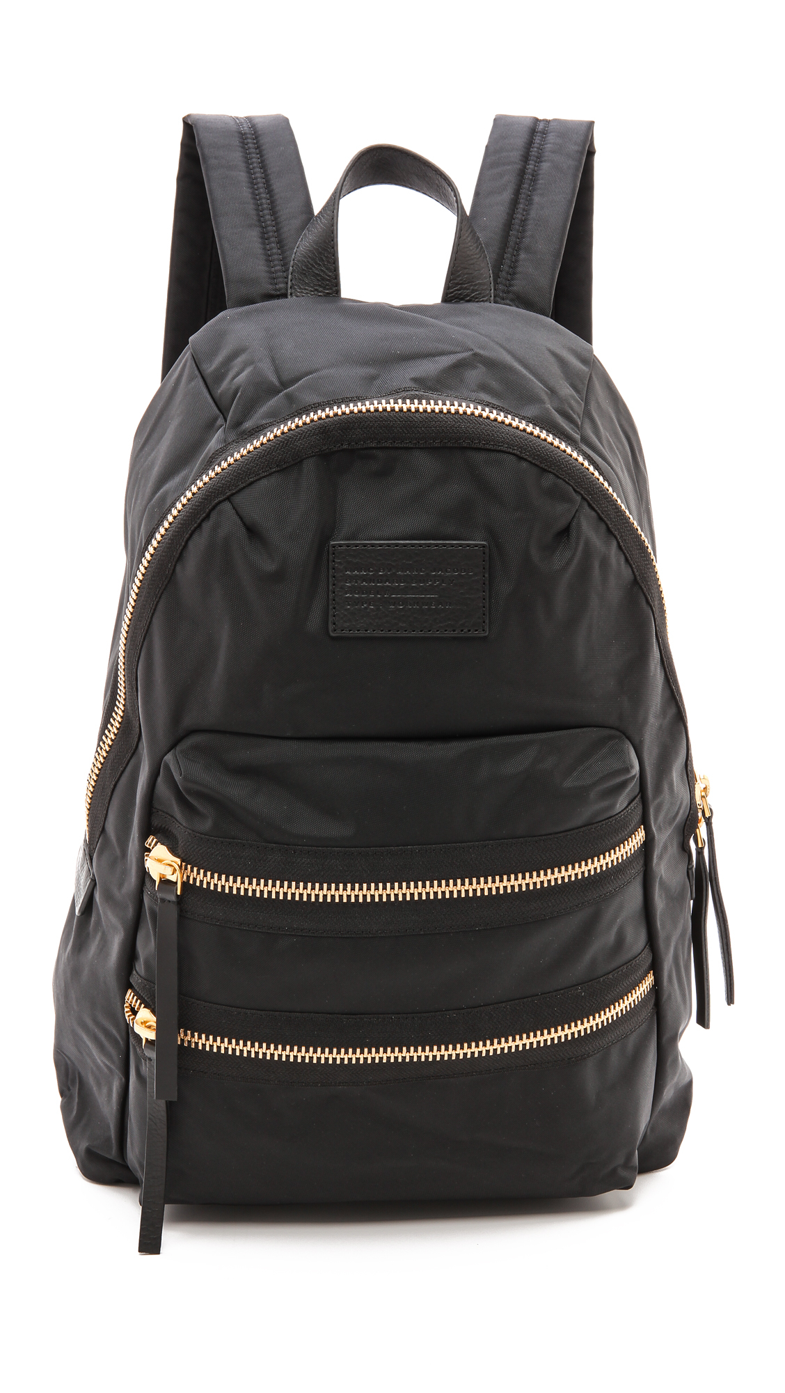 Backpack Black Marc By Marc Jacobs Loco Domo Packrat Backpack In Black Lyst