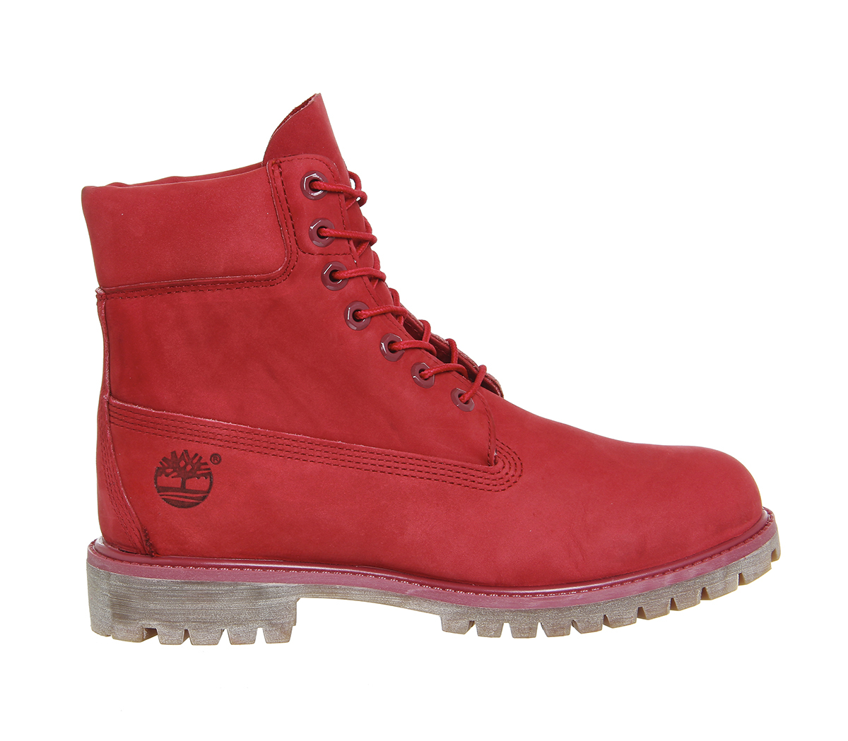 Timberland 6 In Buck Boots In Red For Men Lyst