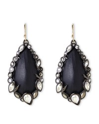 Alexis bittar Black Earrings in Metallic | Lyst