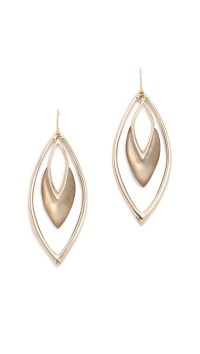 Alexis Bittar Orbiting Basic Earrings - Warm Grey/gold in ...