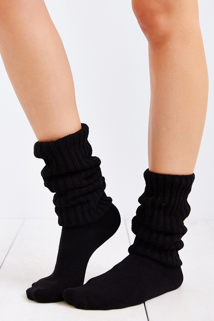 Black Clothing Rack Lyst - Urban Outfitters E.g. Smith Classic Slouch Sock In