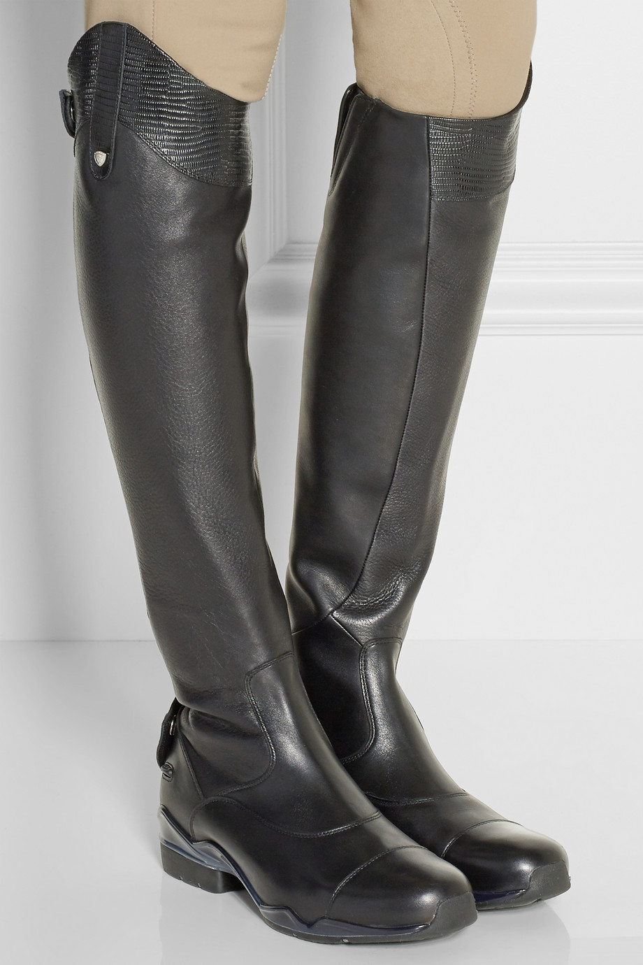 Ariat Volant S Leather Slim Fit Riding Boots In Black Lyst