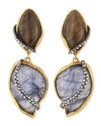 Alexis bittar Winding Vine Clipon Earrings in Silver (GOLD ...