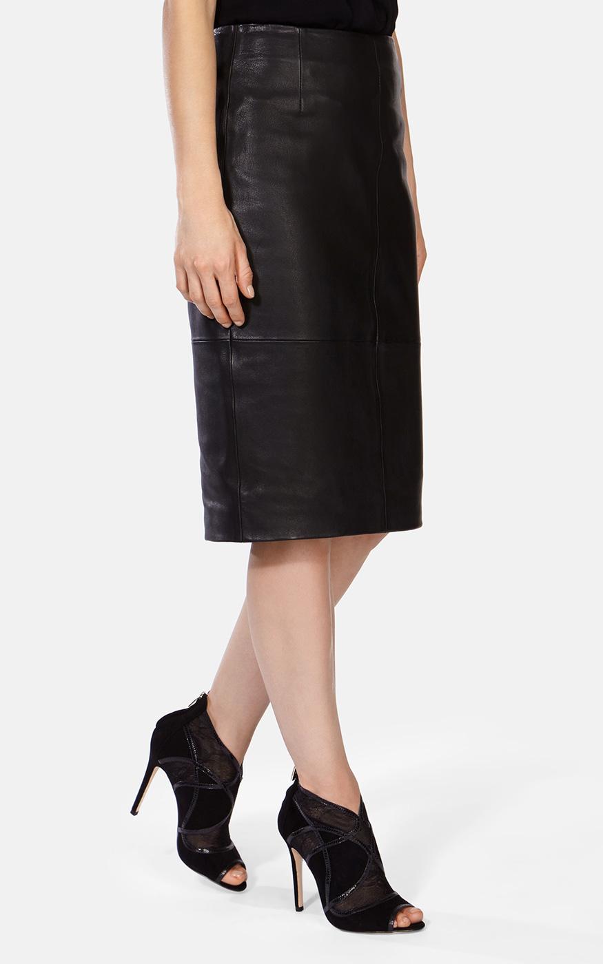 cc447b31c404 Karen Millen Lace Suede Shoe Boot In Black Lyst