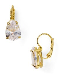 Lyst - Kate spade new york Draped Jewels Pear Drop ...