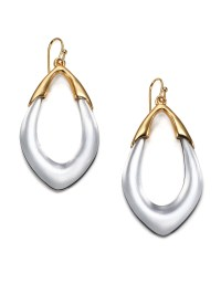 Lyst - Alexis Bittar Lucite Orbit Link Drop Earrings/Clear ...