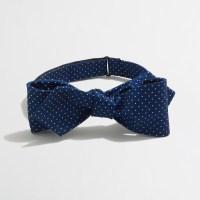 J.crew Factory Silk Dot Bow Tie in Blue for Men | Lyst