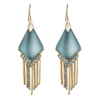 Alexis bittar Cabochon Chevron Fringe Earring You Might ...
