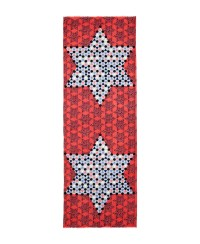 Lyst - Yarnz Chinese Checkers Scarf in Red